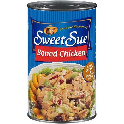 Sweet Sue™ Boned Chicken - 50 oz. can