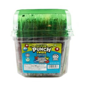 Sour Punch Twists (62.4 oz.)