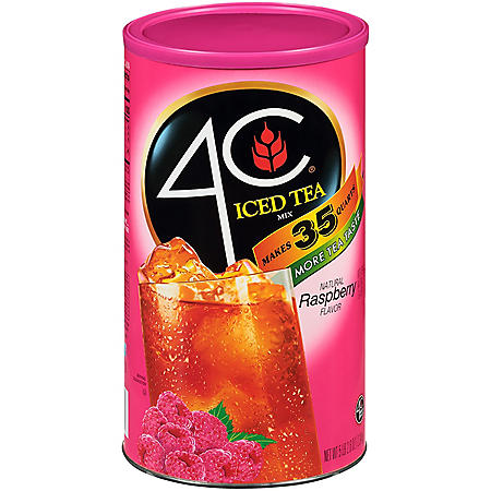 4C 35 QT Raspberry Iced Tea Mix (82.6 oz.)