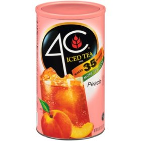 4C 35 QT Peach Iced Tea Mix (82.6 oz.)