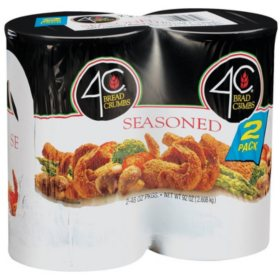 4C Seasoned Bread Crumbs (92 oz., 2 pk.)