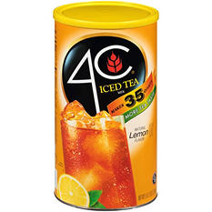 4C Lemon Iced Tea Mix - 92.8-oz. canister