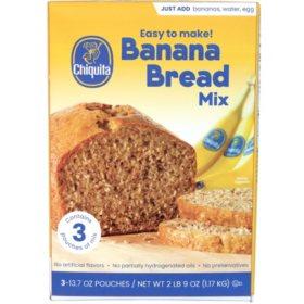 Chiquita Banana Bread Mix (13.7 oz., 3 pk.)