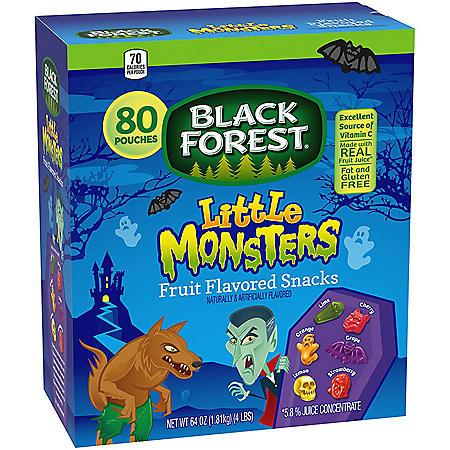 Black Forest Little Monsters Fruit Snacks (80 pk.)