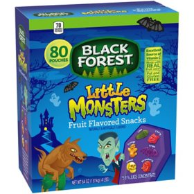 Black Forest Little Monsters Fruit Snacks (80 pk.)