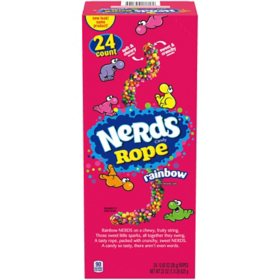 Nerds Rope Rainbow Candy (24 ct.)