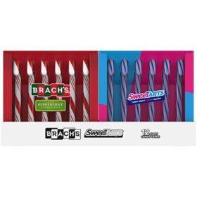 Brach's Sweetarts Jumbo Candy Canes (12 ct.)