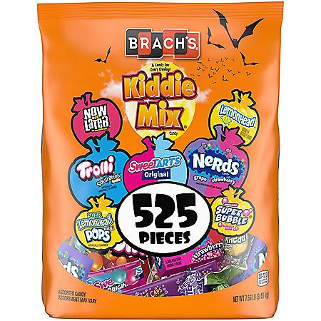 Brach's Kiddie Mix Halloween Variety Candy (525 ct., 7.56 lbs.)