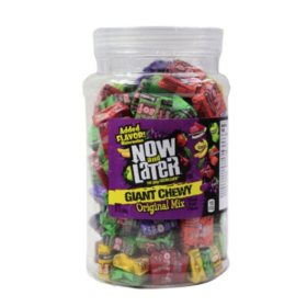 Now & Later Giant Soft Quick Chew Taffy - 38.1 oz.