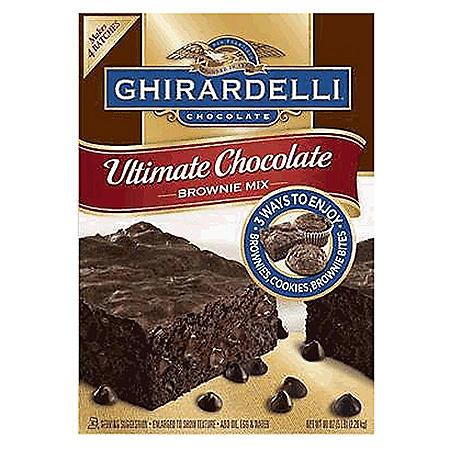 Ghirardelli Ultimate Brownie Mix 4 pack/80 oz