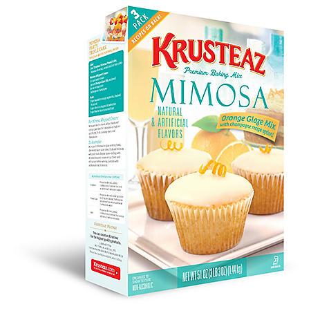 Krusteaz Mimosa Premium Baking Mix (51 oz., 3 pk.)