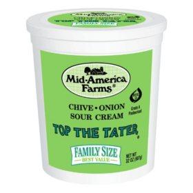 Mid-America Farms Top the Tater Sour Cream (32 oz.)