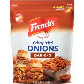 French's Crispy Fried Onions, BBQ (24 oz.)