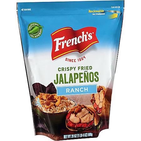 French's Ranch Crispy Fried Jalapenos (20 oz.)