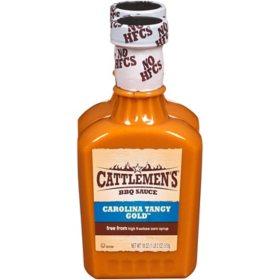 Cattlemen's BBQ Sauce, Carolina Tangy Gold ( 18 oz., 2 pk.)
