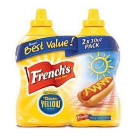 French's Classic Yellow Mustard (30 oz., 2 pk.)