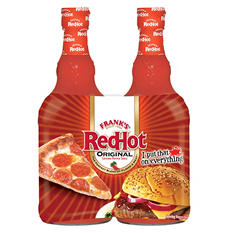Frank's RedHot Original Cayenne Pepper Sauce (23 oz. bottle, 2 ct.)