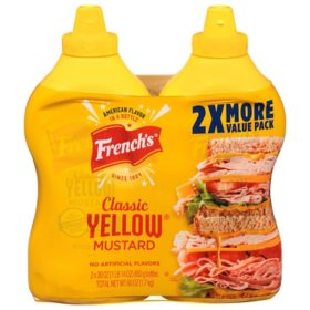French's Classic Yellow Mustard (30 oz., 2 pk.)