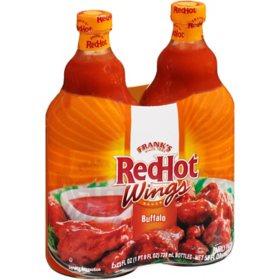 Frank's RedHot Original Buffalo Wing Sauce (25 oz, 2 pk.)