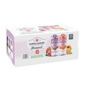 Sanpellegrino Momenti Variety Pack (24 pk., 11.15 fl. oz. cans)