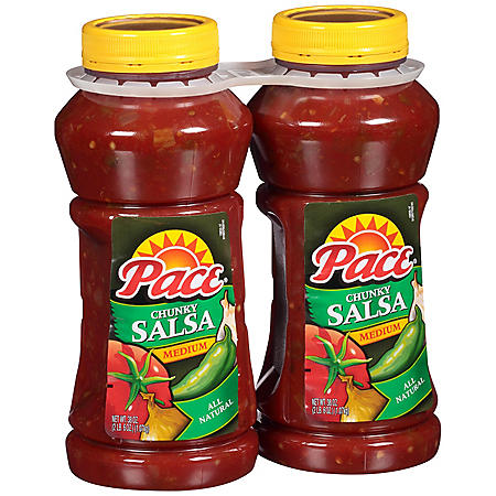 Pace Chunky Salsa, Medium (38 oz., 2 ct.)