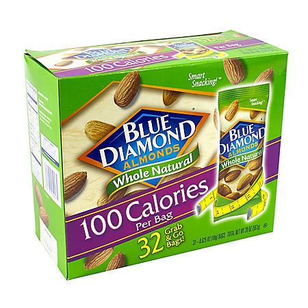 Blue Diamond Almonds Grab-and-Go Bags (0.625 oz, 32 pk)