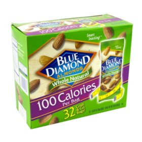 Blue Diamond Almonds Grab-and-Go Bags (0.625 oz, 32 pk)