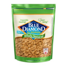 Blue Diamond Whole Natural Almonds (40oz)