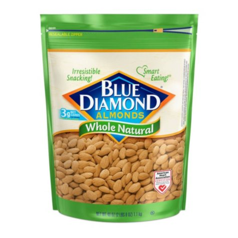 Blue Diamond Whole Natural Almonds (40 oz.)