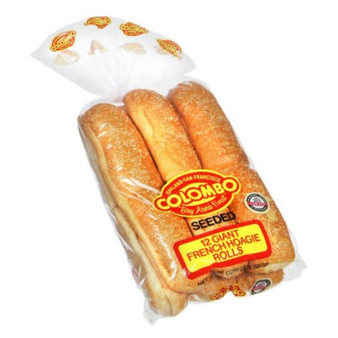 Colombo® French Hoagie Rolls - 12 ct.