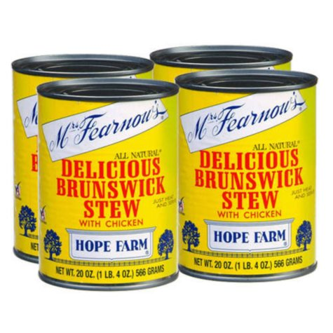 Mrs. Fearnow's? Stew w/ Chicken - 4/20oz cans