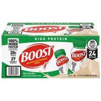 BOOST High Protein Drink, Vanilla (24 pk.)