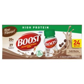 BOOST High Protein, Café Mocha (8 fl. oz. 24-pack)
