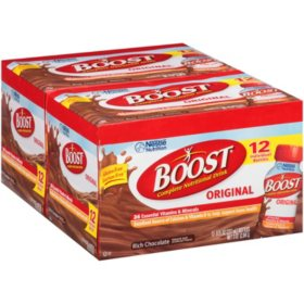 Boost Rich Chocolate Complete Nutritional Drink - 8 fl. oz. - 24 ct.
