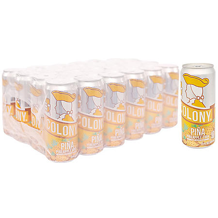 Old Colony Piña Pineapple Soda (10oz / 24pk)