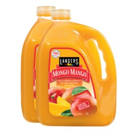 Langers Mongo Mango Juice Cocktail (1gal / 2pk)