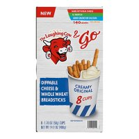 The Laughing Cow & Go Breadsticks and Cheese Snack Cups (8 ct.)