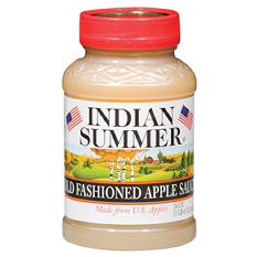 Indian Summer Old Fashioned Regular Applesauce (12 pk., 24 oz.)