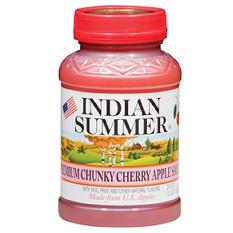 Indian Summer Premium Chunky Cherry Applesauce (12 pk., 23 oz.)