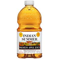 Indian Summer Premium Apple Juice - 64 oz.