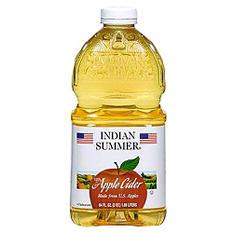 Indian Summer Apple Cider (64 oz.)
