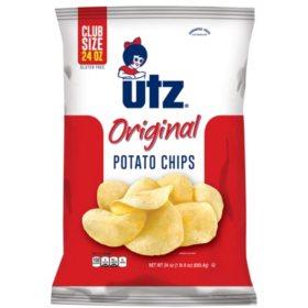 Utz Regular Potato Chips (24 oz.)