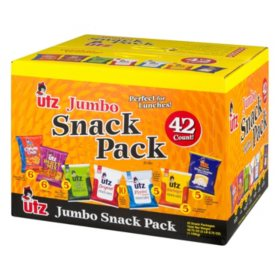 Utz Jumbo Snack Pack (1 oz., 42 ct.)