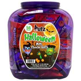 Utz Halloween Mini Cheese Balls (60 ct.)