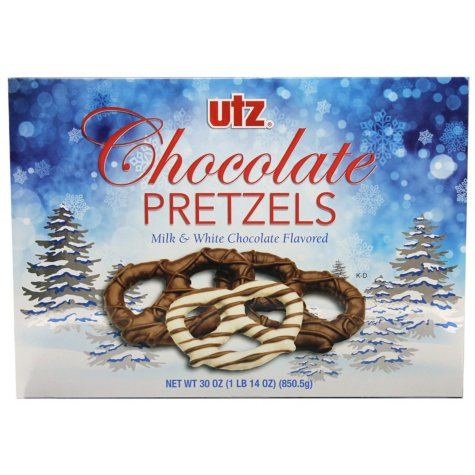 Utz Chocolate-Covered Pretzel Box (30 oz.)