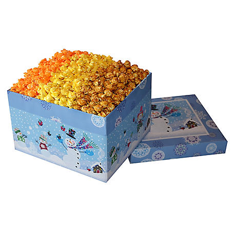 Popcorn Lovers Gift Box - Snow Kids design (23 oz.)
