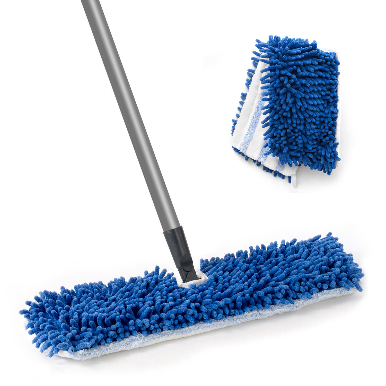 O-Cedar Professional Dual Action Microfiber Flip Mop with Extra Refill
