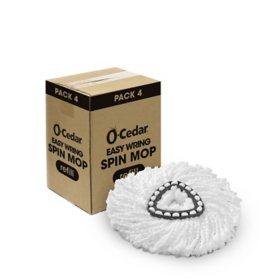 O-Cedar EasyWring Microfiber Spin Mop Refill (4 pk.)