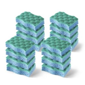 O-Cedar Multi-Use No-Scratch Scrub Sponge (16 ct.)