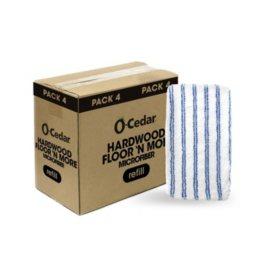 O-Cedar Hardwood Floor 'N More Microfiber Refills (4 ct.)